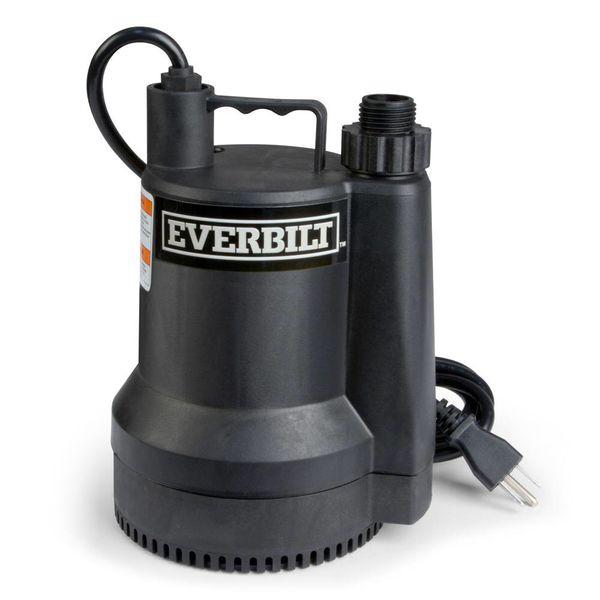 Everbilt 1/6 hp sub pump