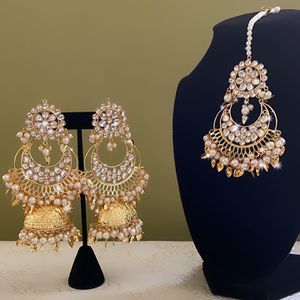 TIKKA AND EARRING SET for Sale in Springfield, VA