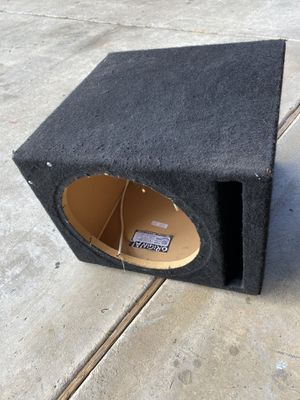 Ground shaker ported box for 12inch subwoofer for Sale in Modesto, CA