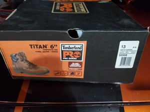 Timberland Pro composite toe work boots size 13 brand new for Sale in Amelia, OH
