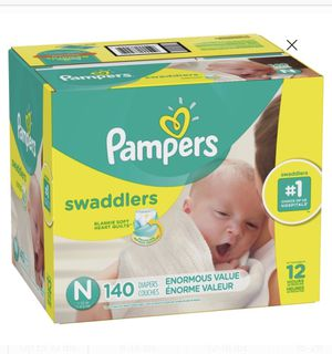 Newborn Pampers 140 Count ❗️ for Sale in Philadelphia, PA