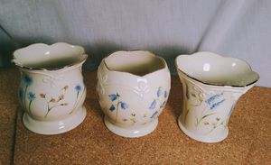 Lenox Fine China Candle Holders Gold Accented for Sale in Pinellas Park, FL