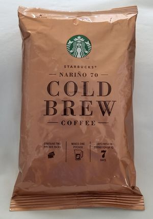 Starbucks Cold Brew Coffee Pitcher Packs Sealed Narino 70 -6 Packs- for Sale in Chattanooga, TN