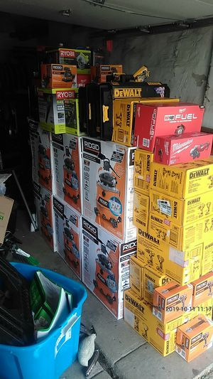 Power Tools in wet-dry vacs with the blowers and weed wackers gas for Sale in Lansdowne, PA
