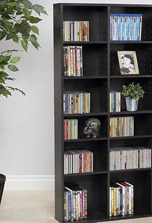 New!! Bookcase, bookshelves, audio media organizer, adjustable shelves bookcase, organizer, storage unit, living room furniture, entrance furniture for Sale in Phoenix, AZ