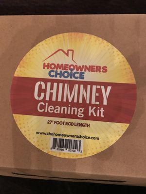 CHIMNEY CLEANING KIT for Sale in Rockville, MD