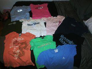 11 Volcom, Roxy, Adidas shirts etc.. for Sale in Palmetto, FL