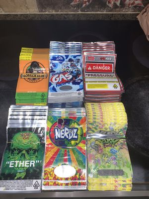 Weed baggies 420 Mary Jane storage bags for Sale in Lauderhill, FL
