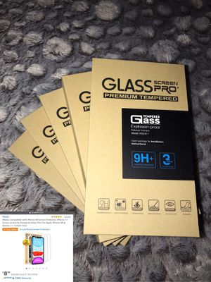 iPhone XR / iPhone 11 Tempered Glass Screen Protectors for Sale in Orlando, FL