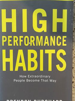 High Performance Habits- Self Help for Sale in San Diego,  CA
