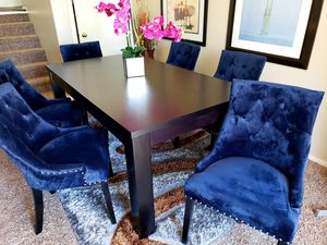 LUXURY DINING TABLE SET. 7 PC for Sale in Las Vegas, NV