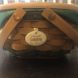 LONGABERGER GUMDROP BASKET for Sale in Sherrills Ford, NC