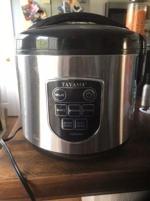 Tayama rice cooker for Sale in Fredericksburg, VA