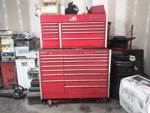 Snap-on tool box with a lot of tools for Sale in Alexandria, VA