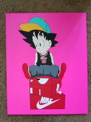 Kid goku x jordan dragon ball z for Sale in Santa Monica, CA