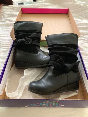 Girls black boot for Sale in Yukon, OK