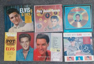 6 ORIGINAL ELVIS PRESLEY ALBUMS for Sale in Los Angeles, CA