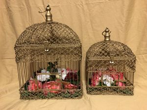 CAGE DECORATION$45 for Sale in Garland, TX