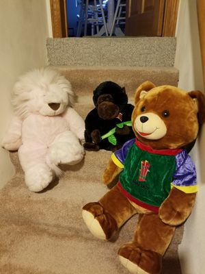 Big size stuffed animals for Sale in Appleton, WI