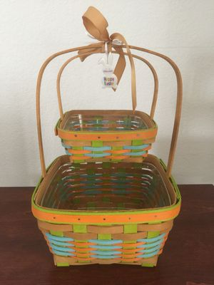 Longaberger Easter Basket Set for Sale in Las Vegas, NV