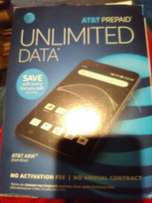 AT&T prepaid phone activated ready to go for Sale in Lancaster, OH
