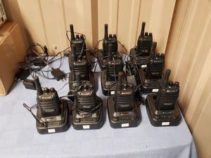 BEST OFFER 10 Midland biztalk 2 watt 16 channel radios with chargers for Sale in Laurel, DE