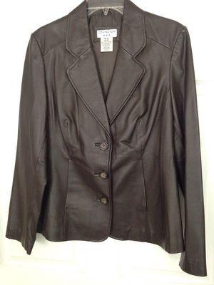 COVINGTON Leather Jacket size M for women for Sale in Ashburn, VA