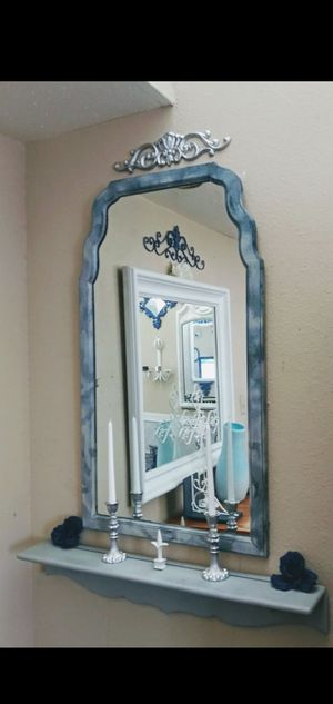 Gray/Silver Mirror Display for Sale in Anchorage, AK