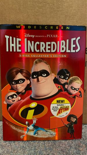 The Incredibles DVD for Sale in West Orange, NJ