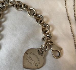 Tiffany & Co. RTT Heart Tag Charm Bracelet for Sale in Temple City, CA