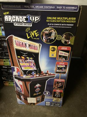 NBA JAM 1up arcade game console for Sale in Houston, TX