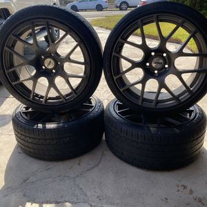 TSW Matte Black Rims for Sale in Santa Ana, CA