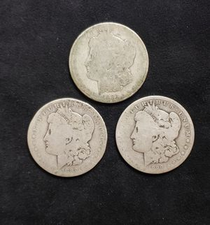 3 silver dollars for Sale in Laguna Hills, CA