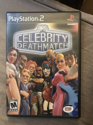 MTV Celebrity Deathmatch (Playstation 2, PS2) Tested w/ Manual Complete for Sale in Murrieta, CA