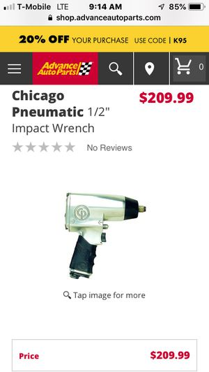 "Chicago pneumatic 1/2"" impact wrench for Sale in Palmetto Bay, FL"