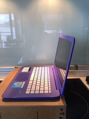 HP Stream Laptop PC 14-ax020nr (Intel Celeron N3060, 4 GB RAM,32 GB eMMC) Office 365 Personal 1 Year for Sale in Dallas, TX