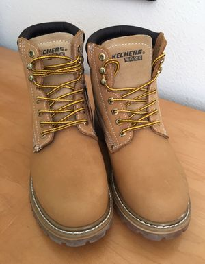 Skechers Soft Toe Work Boots Men's Size 9 for Sale in Rancho Cucamonga, CA