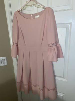 Blush/pink dress, EJ size 12 fits 10-12 for Sale in South Riding, VA