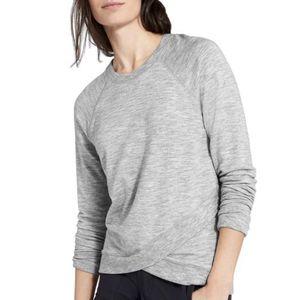Athleta | Grey Criss-Cross Pullover Sweatshirt- SZ XS for Sale in Las Vegas, NV