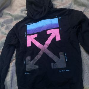 Off - White hoodie (size medium-large) for Sale in Fayetteville, GA