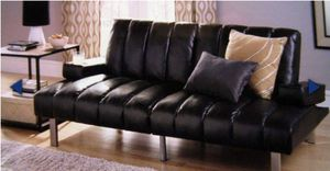 Brand new theatre Futon with armrest and cup holder for Sale in AZ, US