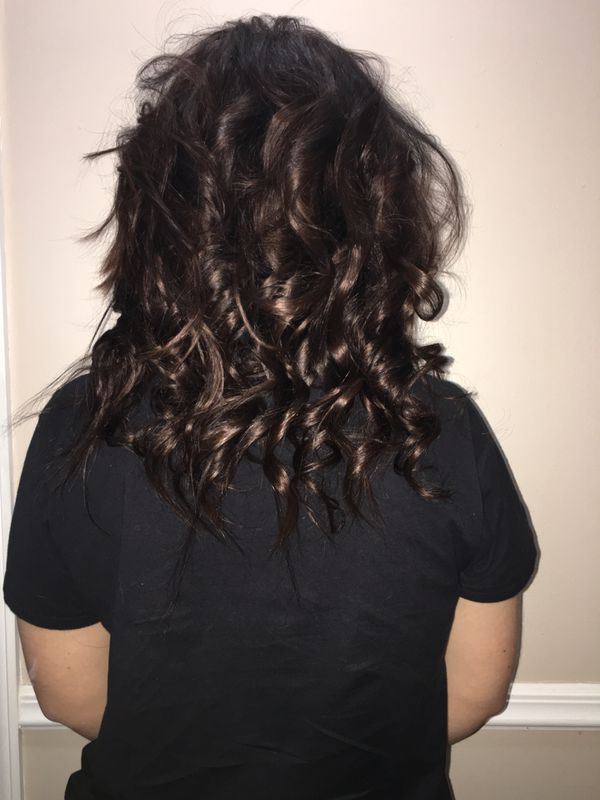 Microlink weft extensions