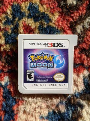 Pokemon Moon Nintendo 3DS for Sale in Oakdale, CA