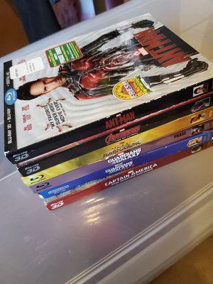 Marvel Blu ray for Sale in Gardena, CA