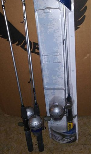 Full Size Fishing Pole Rod Spincast Reel New for Sale in Chicago, IL