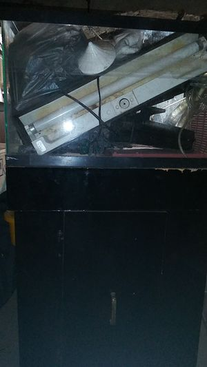 Fish tank, stand, hood & filter for Sale in Philadelphia, PA