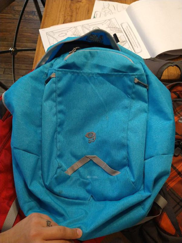 High Sierra and Mountain Hard Wear book bags