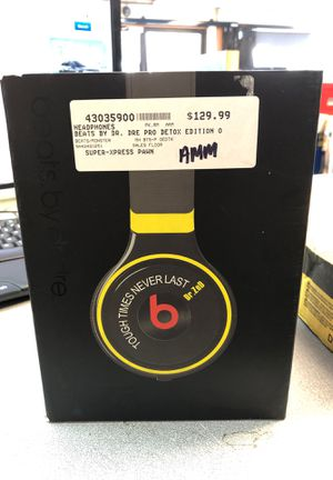 Beats by Dre , Dr. ZeD Editon for Sale in San Diego, CA