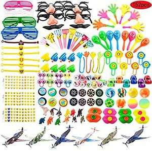 Kissdream 152PCS Carnival Prizes for Kids Birthday Party Favors Prizes Box Toy Assortment for Classroom. 10 unit available for Sale in City of Industry, CA