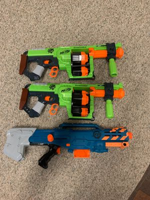 Nerf gun new $15 each for Sale in Annandale, VA